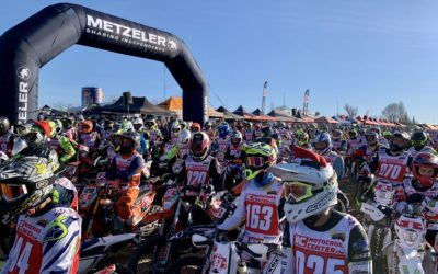 470 motos despiden el año en la carrera navideña